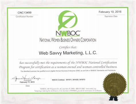 web design certificate gmu wsm becomes a wbe certified web design agency