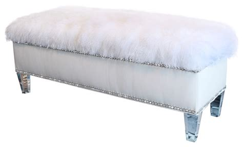 white leather storage bench white leather storage bench contemporary upholstered