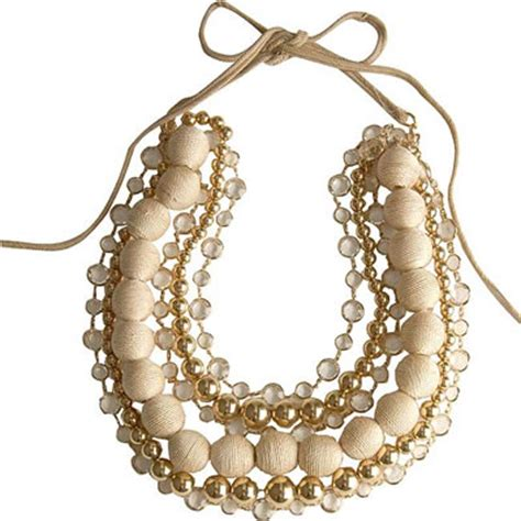 Layered Necklaces The Accessory by Couture Multi Strand Necklace Purseblog