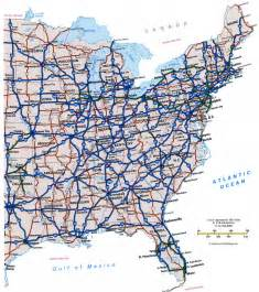 highway cities of usfree maps of us