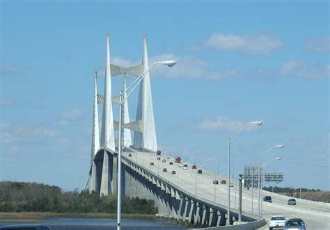 boat rs near the skyway bridge city of bridges visit jacksonville