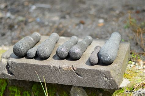 Alu Batu Ukuran Sedang 15 Cm tips membuat seorang diri batu candi