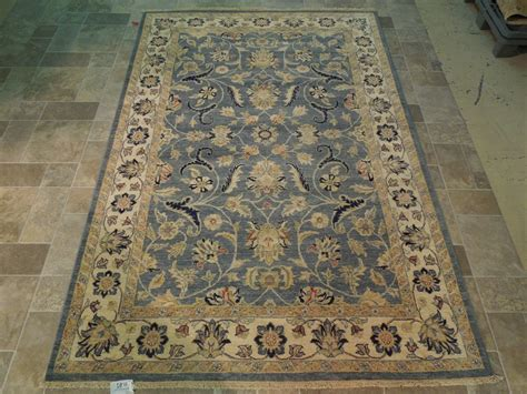 area rugs 5x8 blue beige vegetable dyed rug handmade 5x8 wool area rug traditional design ebay