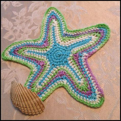 knitted starfish pattern djcstitches starfish dishcloth 3 starfish ravelry and