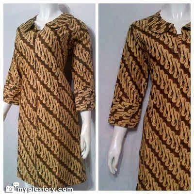 Hn Dress Batik Bunga Fit L pin by batik bagoes on dress