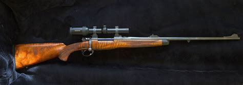 Handmade Rifle - 375 h h custom fn mauser heppler heilmann and for sale