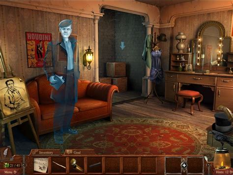 stage dressing room midnight mysteries haunted houdini screenshots for mobygames