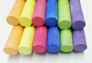 colored chalk k 252 nstlerleinwand inkl tafelfolie sw