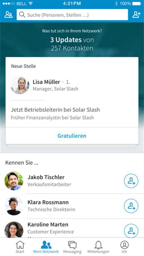Lebenslauf Linkedin Linkedin Lebenslauf Karriere Netzwerk Im App Store