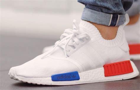 Sepatu Adidas Nmd R1 Og Primeknit adidas nmd runner pk white blue sneaker bar detroit