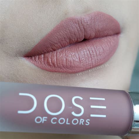 dose of colors review dose of colors liquid matte lipstick review and swatches