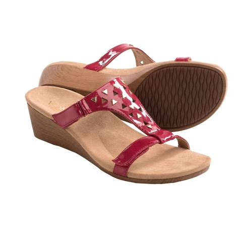 orthaheel wedge sandals orthaheel maggie wedge sandals for 8240a save 61