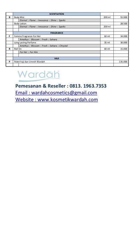 Wardah Innocence Lotion daftar harga wardah kosmetik v2xii