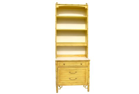 Thomasville Faux Bamboo Dresser by Thomasville Faux Bamboo Dresser W Hutch Omero Home