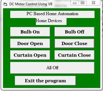 pc based home automation using vb ashok basnet