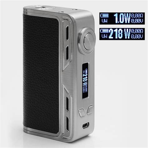 Mod Smoant Charon 218watt Authentic authentic smoant charon 218w tc vw silver variable wattage box mod