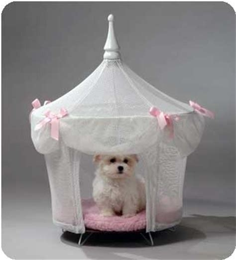 princess bed for dogs fancy sugarplum princess dog cat pet bed canopy tent ebay