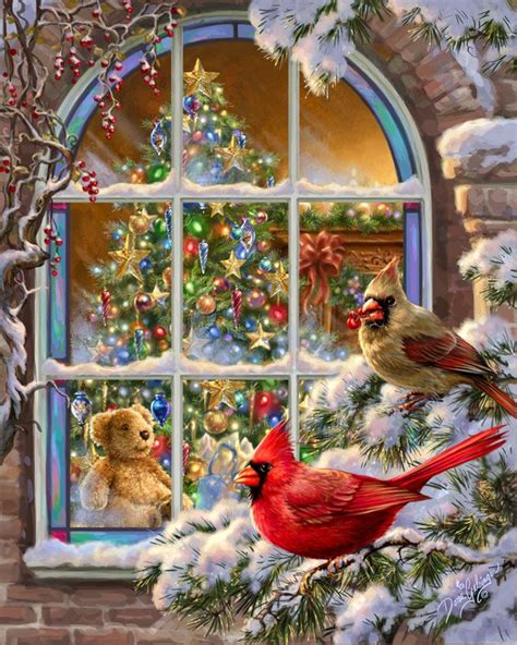 theme of rose cheeked laura by thomas cion художника dona gelsinger рождество и новый год