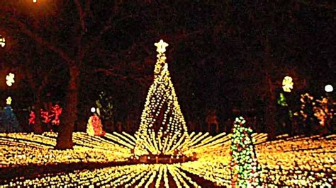 lincoln park zoo chicago christmas lights 2013 youtube