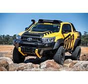 Toyota HiLux Tonka Concept  Gets Tough