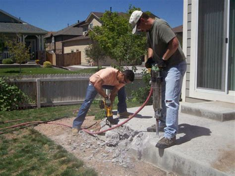 tips for demolishing concrete diy