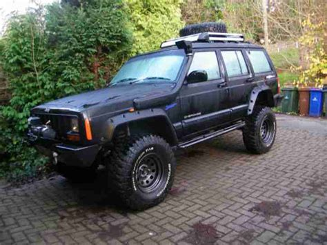 monster jeep cherokee jeep cherokee sport off roader monster truck modified 4 0
