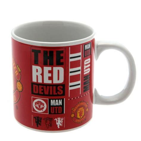 Mug Melamin Manchester United manchester united mug gifts for a united fan
