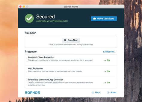 apple antivirus software sophos