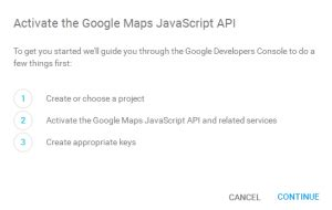 how to get google maps api key template monster help
