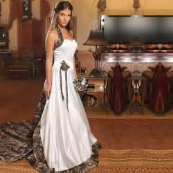 2015 white camouflage wedding dresses with beaded halter camo wedding