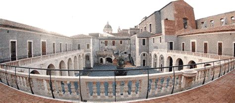 cortile platamone catania palazzo platamone convento san placido 187 patrimonio