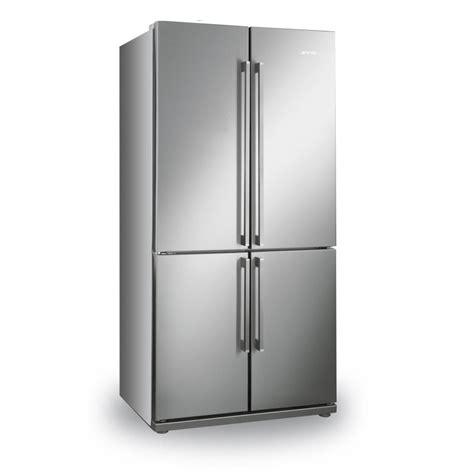 Four Door Freezer by Smeg Fq60xp A American Style Fridge Freezer Four Door