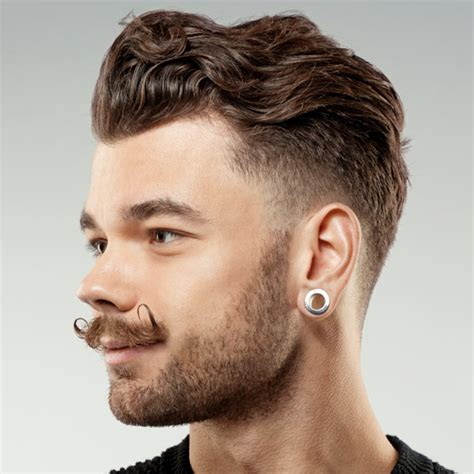 Cool Hairstyles For Guys With Thick Hair by Cool Haircuts For Guys With Thick Curly Hair Hair