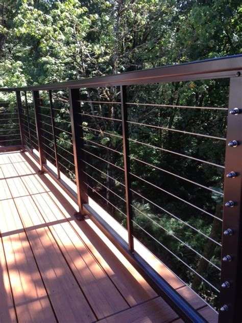stainless steel deck railing ideas doherty house