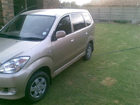 Toyota Avanza For Sale South Africa 2011 Toyota Avanza 1 5sx Used Car For Sale In Springs