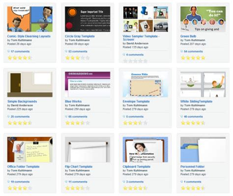 elearning templates 5 free powerpoint e learning templates the rapid e