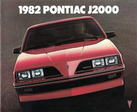 1982 Pontiac J2000 by Ladder To Oblivion The 1982 General Motors J Cars The