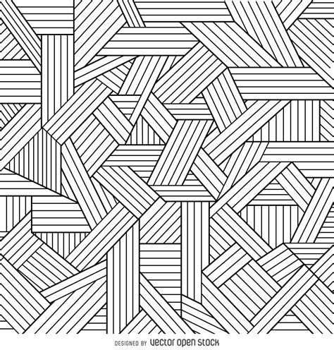 geometric pattern outline decorative geometric outlines background vector download