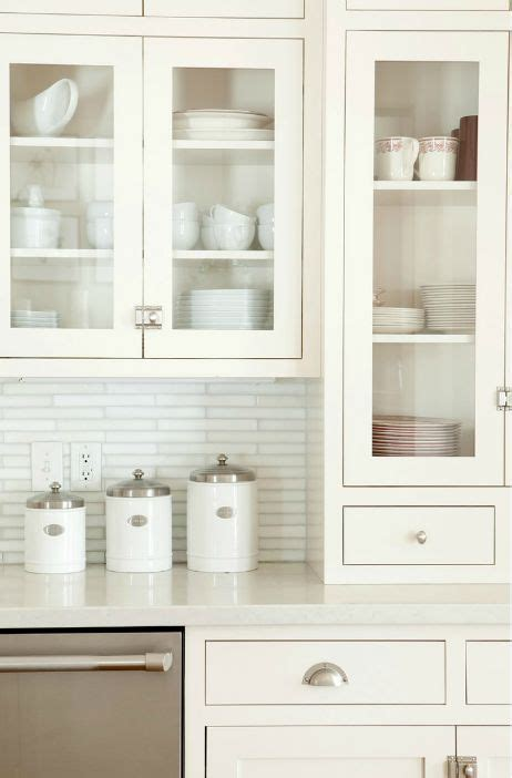 Shaker Cabinet Doors With Glass 17 Best Images About Kitchens On Richardson Stove And Hardware