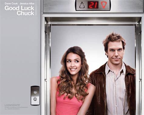 movies  good luck chuck raunchy romance itcher