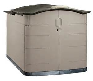 outdoor storage shed by rubbermaid for the home