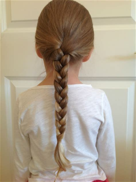 three strand braid or plait one how to tie knots wandering wondering a disorderly pile of who knows