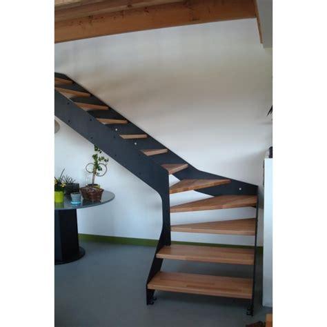 Escalier Sur Mesure Prix 1176 by Escalier Quart Tournant Limon Metal Droit