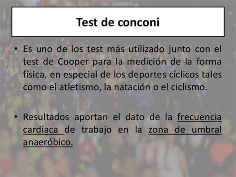 test conconi ciclismo test de frecuencia cardiaca test de conconi