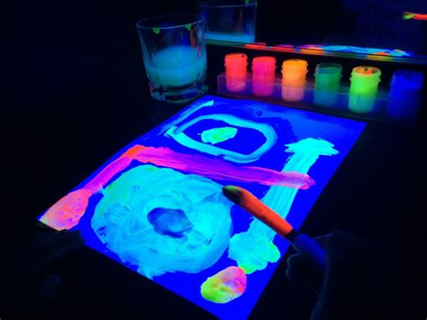 glow in the paint national bookstore diy black light booth provocation sturdy for common things