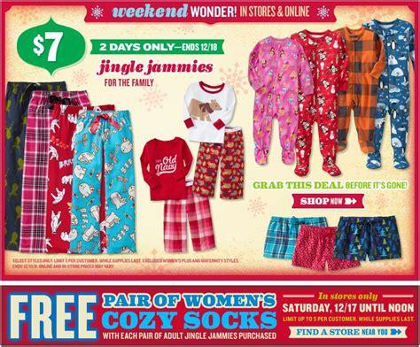 old navy coupons jingle old navy weekend wonder jingle jammies mommysavers