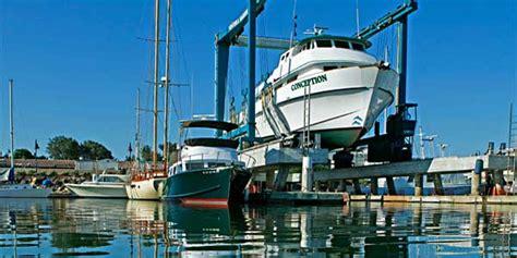 boat repair ventura ventura harbor boatyard shipyard marine repair