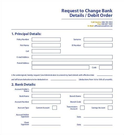 bank change order form template change order template 24 free excel pdf document