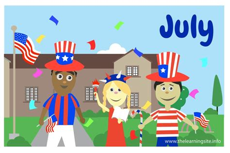 July Card Of The Month by The Learning Site