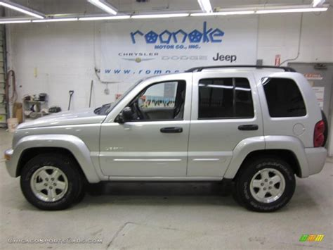 jeep liberty limited 2004 2004 jeep liberty limited 4x4 in bright silver metallic